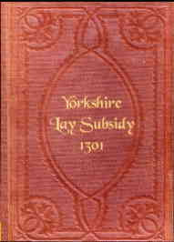 Yorkshire Lay Subsidy 1301