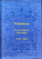 Image unavailable: Parish Registers of Whickham, Marriages 1579-1812