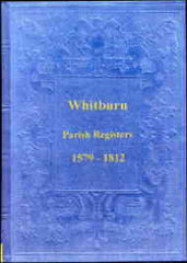 Image unavailable: Parish Register of Whitburn, Durham, 1579-1812