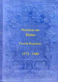 Parish Registers of Norton-in-Hales 1572-1880 (Shrop)