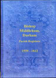 Parish Registers of Bishop Middleham, Durham