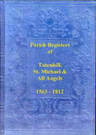 Parish Registers of Tatenhill, St. Michael (Staffordshire)