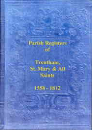 Parish Registers of Trentham, Staffordshire
