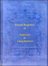 Parish Registers of Knockin & Llanblodwel, Shropshire
