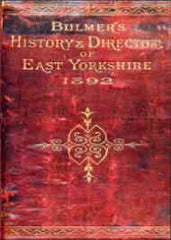 Image unavailable: Bulmers East Yorkshire Directory 1892