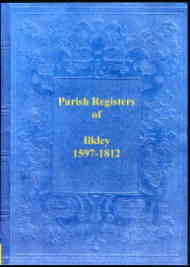 Parish Register of Ilkley 1597-1812