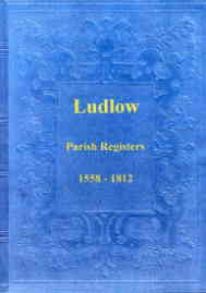 Parish Registers of Ludlow 1558-1812