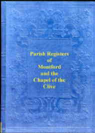 Parish Registers of Montford & Clive, Shropshire