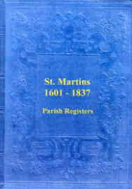 Parish Registers of St. Martins, Shropshire 1601-1837