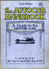 Image unavailable: The Autocar Handbook