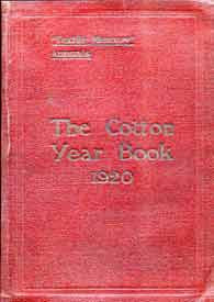 The Cotton Year Book 1920