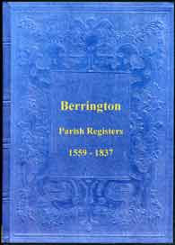 Parish Registers of Berrington, Shropshire