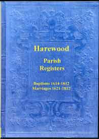 The Parish Registers of Harewood Part I