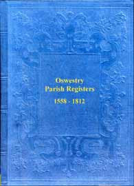 Oswestry Parish Registers 1558-1812