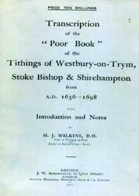 Poor Book - Tithings of Westbury-on-Trym, Stoke Bishop & Shirehampton
