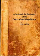 Image unavailable: Decisions of the Court of Kings Bench upon Settlement Cases
