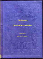 Image unavailable: The Register of Churchill in Oswaldslow