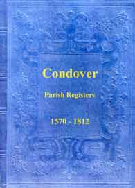 Condover Parish Registers