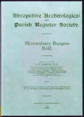 Image unavailable: Shrewsbury Burgess Roll
