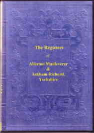Parish Registers of Allerton Mauleverer