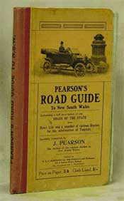 Pearson's Road Guide to New South Wales
