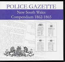 New South Wales Police Gazette Compendium 1862-1865