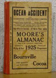 Moore's Almanac and New South Wales Country Directory 1925
