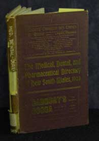 Medical, Dental and Pharmaceutical Directory of New South Wales 1903