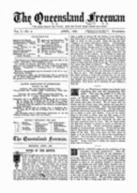 The Queensland Freeman 1881-88 (Baptist Periodical)