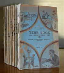 Queensland Baptist Year Books 1941-1950