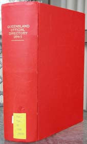 Queensland Post Office Directory 1894-95 (Wise)