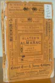 Slaters Queensland Almanac 1887