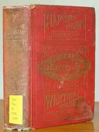Brisbane Post Office Directory & Country Guide 1885-86