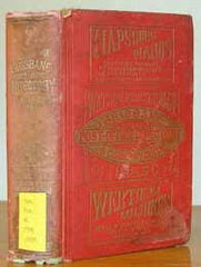 Image unavailable: Brisbane Post Office Directory & Country Guide 1885-86