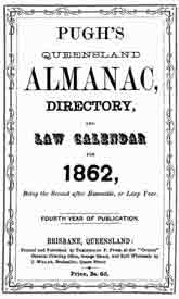 Pugh's Almanac and Queensland Directory 1862