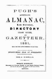 Pugh's Almanac and Queensland Directory 1881