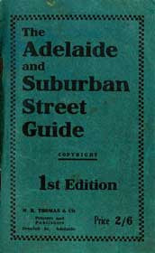 The Adelaide and Suburban Street Guide 1922