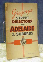 Gregory's Street Directory of Adelaide and Suburbs 1949