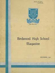 Image unavailable: Birdwood High School Magazine 1931-1980