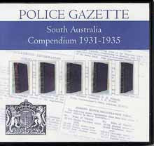 South Australian Police Gazette Compendium 1931-1935