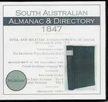 South Australian Almanac and Directory 1847 (Murray)