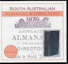 South Australian Almanac and Directory 1870 (Boothby)
