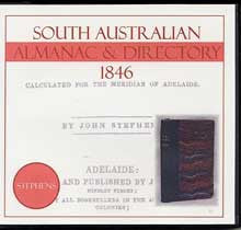 Image unavailable: South Australian Almanac and Directory 1846 (Stephens)