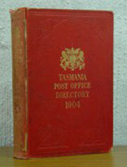 Image unavailable: Tasmania Post Office Directory 1904 (Wise)