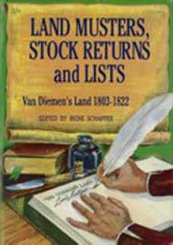 Land Musters, Stock Returns and Lists 1803-1822 - I. Schaffer