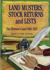 Image unavailable: Land Musters, Stock Returns and Lists 1803-1822 - I. Schaffer