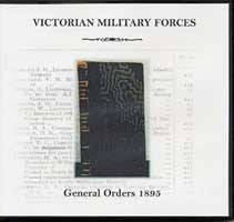 Victorian Military Forces: General Orders 1895