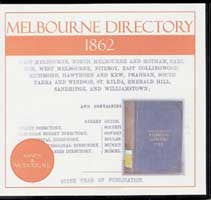 Image unavailable: Melbourne Directory 1862 (Sands and McDougall)