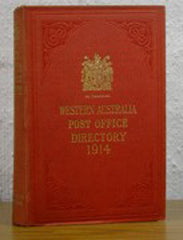 Western Australia Post Office Directory 1914 (Wise's)