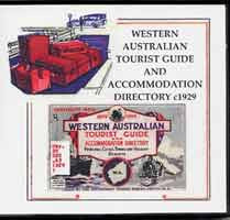 Image unavailable: Western Australian Tourist Guide and Accommodation Directory c1929